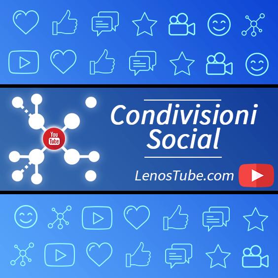 Acquisto di Condivisioni Social del Video