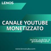 Comprare Canale YouTube monetizzato