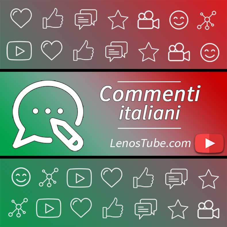 Acquisto di Commenti Italiani