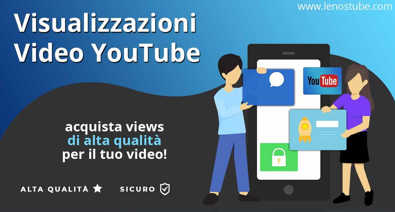 Acquistare Visualizzazioni di Qualità e Sicure per YouTube