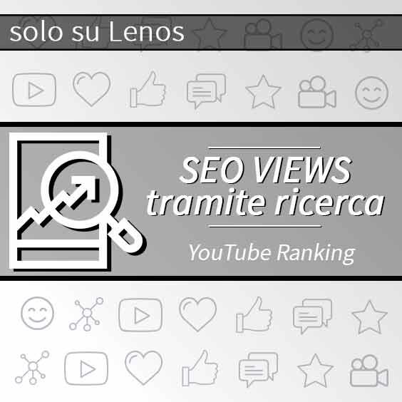 Visualizzazioni Seo YouTube