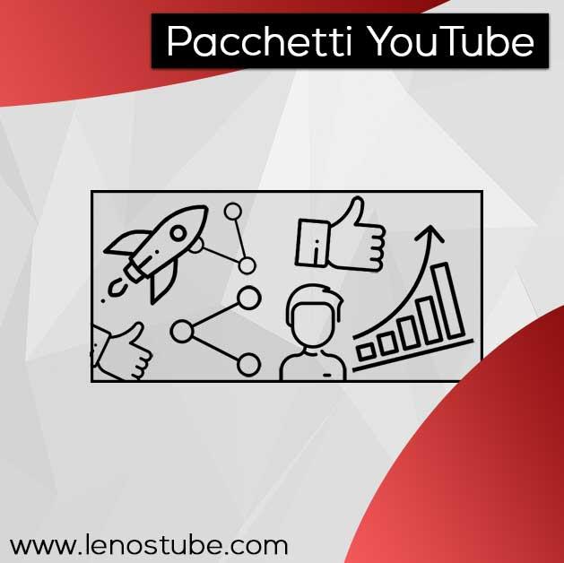 Pacchetti per crescere su YouTube
